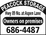 Peacock Storage Livingston