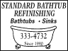 Standard Bathtub Refinishing Livingston